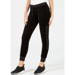Juicy Couture Embellished Velour Sweatpants found on MODAPINS from Macy's for USD $64.00