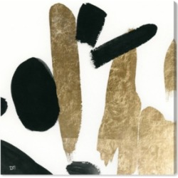 Oliver Gal Big Gold Canvas Art, 24