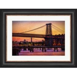 Williamsburg Bridge by Franklin Kearney Framed Art