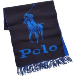 Polo Ralph Lauren Men's Oversized Logo Scarf