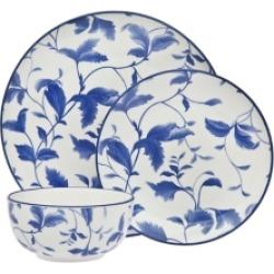 Godinger Arleigh 12-Pc Porcelain Dinnerware Set, Service for 4