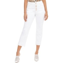 Inc Double-Hem Cropped Straight-Leg Jeans, Created for Macy's found on MODAPINS from Macy's for USD $41.70