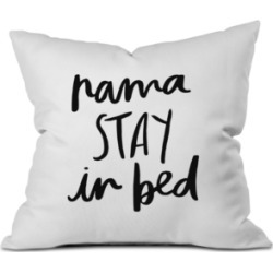 Deny Designs Chelcey Tate NamaSTAY In Bed Throw Pillow