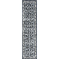Safavieh Charleston Navy and Creme 2' x 8' Runner Area Rug found on Bargain Bro Philippines from Macy's for $51.20