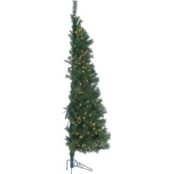 Sterling Pre-Lit Alpine Trees with Clear Lights - Set of 3 found on Bargain Bro India from Macys CA for $236.41