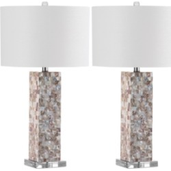 Safavieh Set of 2 Jacoby Table Lamps found on Bargain Bro from Macy's for USD $242.44