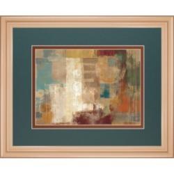 "Classy Art Oriental Trip Crop by Silvia Vassileva Framed Print Wall Art, 34"" x 40"""