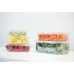 Lustroware Food Storage Containers, Set of 5
