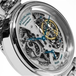 Stuhrling Original Men's Automatic, Silver Skeleton Dial, Silver Case, Silver Stainless Steel Bracelet found on Bargain Bro India from Macy's Australia for $279.42