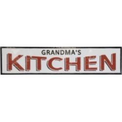 "Vip Home International Metal ""Grandmas Kitchen"" Sign"