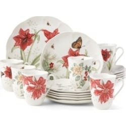 Lenox Butterfly Meadow Holiday 18-pc Dinnerware Set, Service for 6