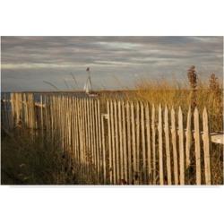 Aledanda Along the Beach Fence I Canvas Art - 20
