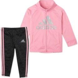 adidas Baby Girls 2-Pc. Tricot Jacket & Heathered Tights Set found on Bargain Bro India from Macy's for $24.00