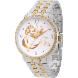 Disney Princess Ariel Women's Two Tone Alloy Glitz Watch found on Bargain Bro India from Macy's for $69.99