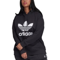 adidas Plus Size Originals Trefoil Hooded Sweatshirt found on MODAPINS from Macy's for USD $80.00