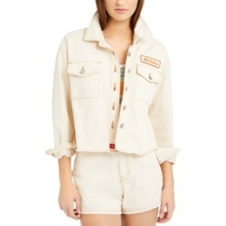 Dickies Junior's Cropped Denim Jacket found on MODAPINS from Macy's for USD $48.00