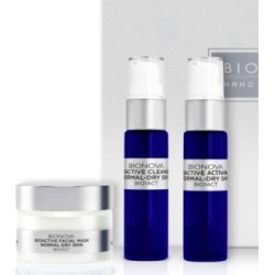 Bionova 3-Step Skin Regimen Kit for Normal and Dry Skin