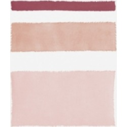 Piper Rhue Painted Weaving Iv Mesa on White Canvas Art - 37