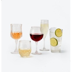 Basics 12-Pc Glassware Sets, Created for Macy's