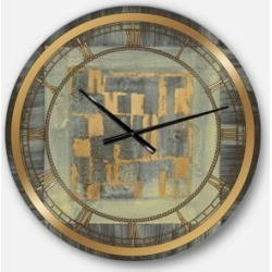 Designart Modern and Glam Oversized Metal Wall Clock found on Bargain Bro India from Macys CA for $147.61
