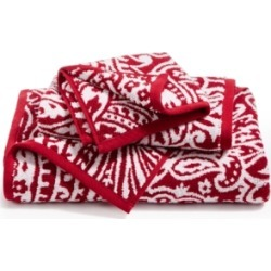 Closeout! Charter Club Elite Cotton Fashion Paisley Bath Towel, Created for Macy's Bedding