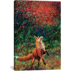 "iCanvas Fox Fire by Iris Scott Wrapped Canvas Print - 26"" x 18"""
