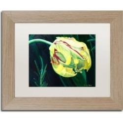 Lily van Bienen 'Dawn' Matted Framed Art - 11