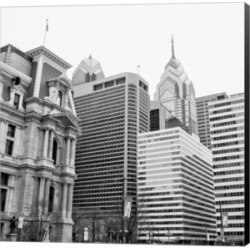 Downtown Philly by Erin Clark Canvas Art