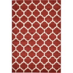 Bridgeport Home Arbor Arb1 Red 4' x 6' Area Rug found on Bargain Bro India from Macy's for $71.50