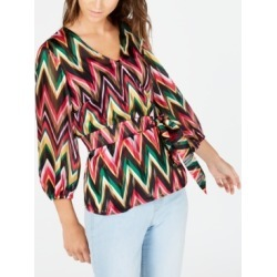 Inc Chevron Wrap Blouse, Created for Macy's found on Bargain Bro Philippines from Macy's Australia for $25.08