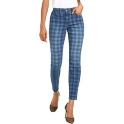 Inc Petite Washed-Plaid Skinny Jeans, Created For Macy's found on Bargain Bro India from Macy's Australia for $50.57
