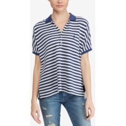 Polo Ralph Lauren Striped Poncho-Polo Shirt found on MODAPINS from Macy's for USD $125.00