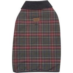 Pendleton Grey Stewart Plaid Dog Coat, X-Large