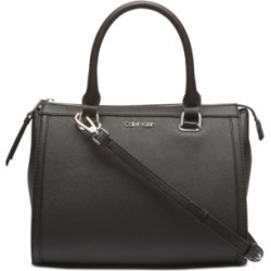 Calvin Klein Mercy Leather Satchel found on MODAPINS from Macy's for USD $99.00