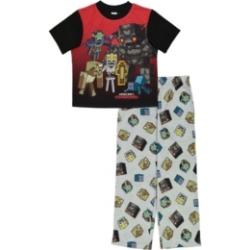 Minecraft Big Boys 2 Piece Pajama Set