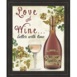 Love and Wine by Jean Plout Framed Art found on Bargain Bro India from Macy's for $300.99
