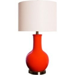 Abbyson Living Shandi Red Ceramic Table Lamp found on Bargain Bro India from Macy's for $169.00