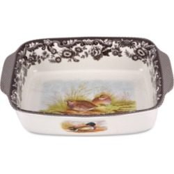 Spode Woodland Bird Rectangular Handled Dish found on Bargain Bro Philippines from Macy's for $116.00