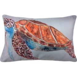 Embroidered Sequined Turtle Outdoor Pillow found on Bargain Bro India from Macy's for $24.99