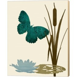 Butterfly And Cat Tails By Karen J. Williams Canvas Art