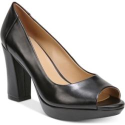 Naturalizer Amie Peep-Toe Pumps Women's Shoes
