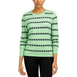 Vince Camuto Jacquard-Dot Sweater found on MODAPINS from Macys CA for USD $27.34