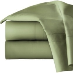 Pointehaven Solid King Pillowcase Pair, 620 Thread Count Cotton Bedding found on Bargain Bro from Macy's for USD $42.56