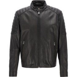 Boss Men's Galini Regular-Fit Lambskin Leather Jacket found on MODAPINS from Macy's for USD $507.00