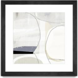 """Giant Art Beholder I Matted and Framed Art Print, 36"""" x 36"""""""