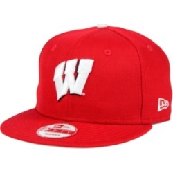 New Era Wisconsin Badgers Core 9FIFTY Snapback Cap found on Bargain Bro Philippines from Macy's for $29.99