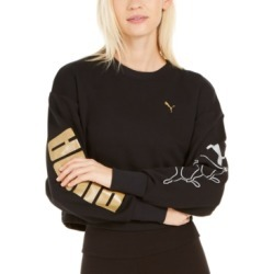 Puma Rebel Metallic-Logo Sweatshirt found on MODAPINS from Macys CA for USD $35.56