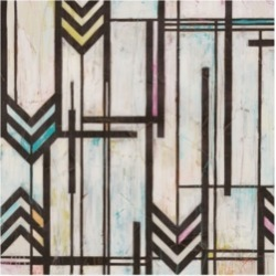 June Erica Vess Deco Abstraction I Canvas Art - 15