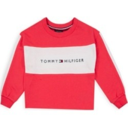Tommy Hilfiger Toddler Girls Hilfiger Pieced Crewneck found on Bargain Bro Philippines from Macy's for $29.62
