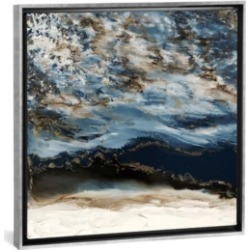 "iCanvas Midnight Wave by Blakely Bering Gallery-Wrapped Canvas Print - 26"" x 26"" x 0.75"""